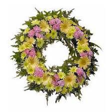 Coroa de flores funeral