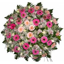 Coroa de flores para funeral